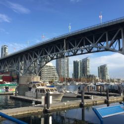 View of Granville Street Bridge